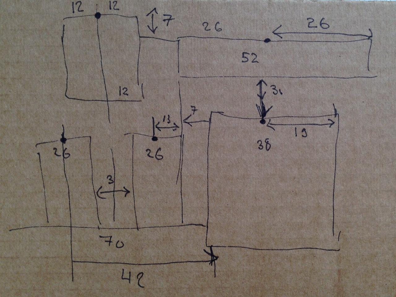 Схема расположения рамок или ответ на вопрос, почему меня не любят рабочие.